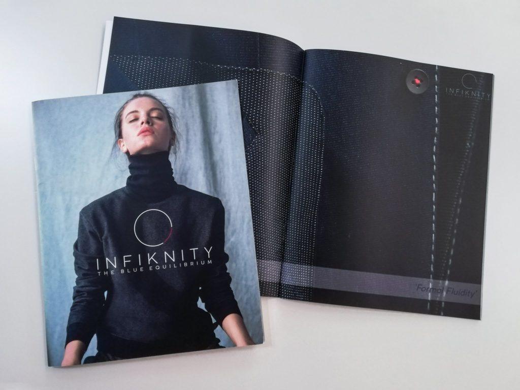 Infiknity catalogue Meidea denim knitwear project for Arvind