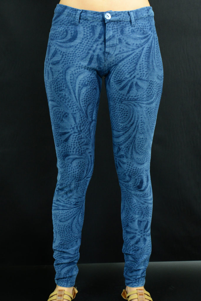 Knitwear design. Outfits designed by Meidea for Jeans Knits Jeanologia's collection