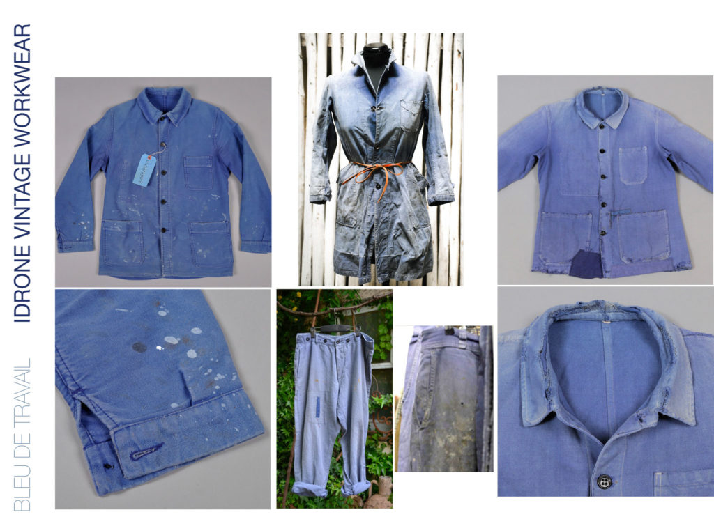 Mood boards for Jeans Knits Jeanologia's collection