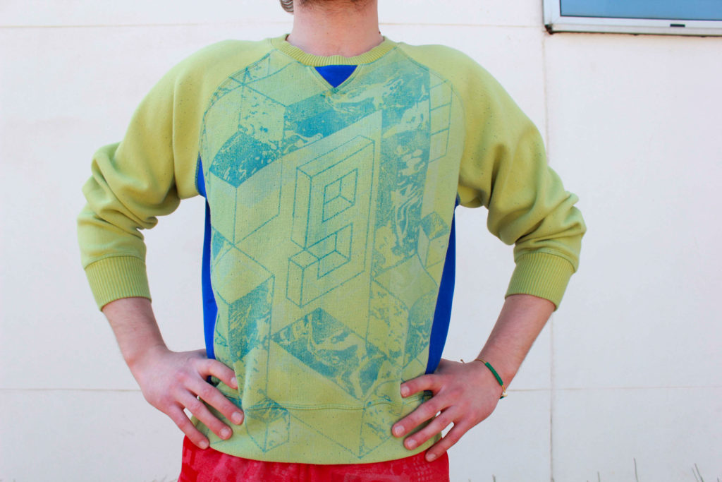 Sweater Knitwear design. Outfits designed by Meidea for Intelligence Knits Jeanologia's collection
