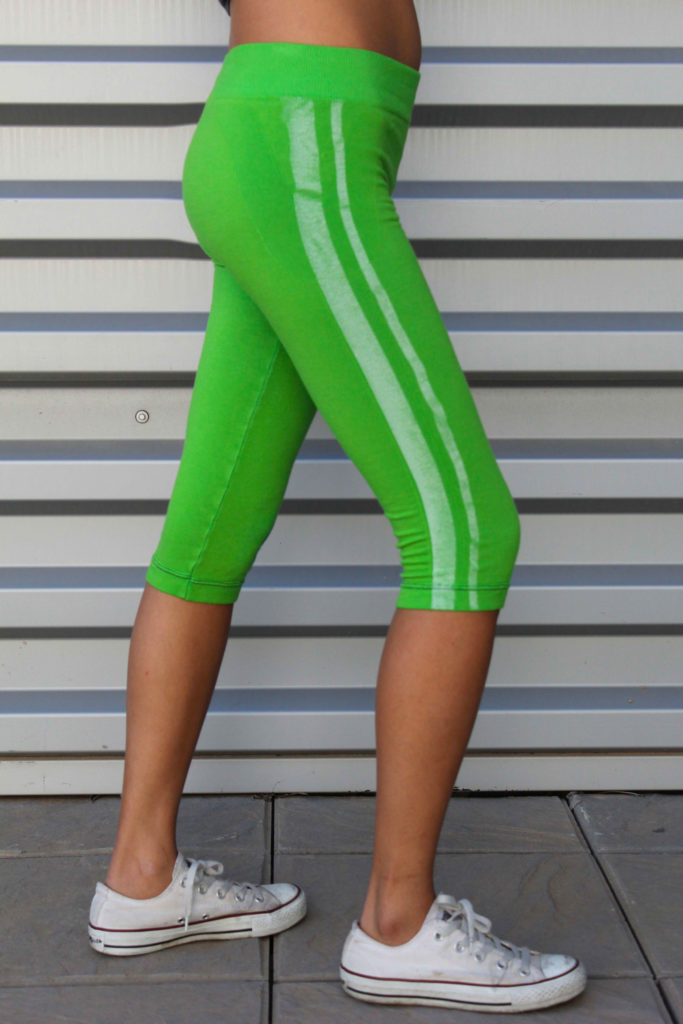 Green pants Knitwear design. Outfits designed by Meidea for Intelligence Knits Jeanologia's collection