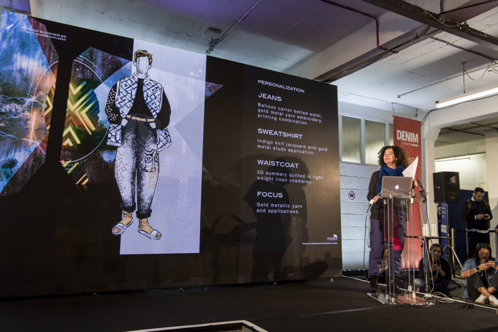 Fitway trend seminar, Lucia Rosin on the stage