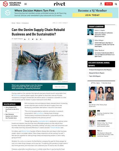 Intervista a Lucia Rosin per RIVET MAGAZINE