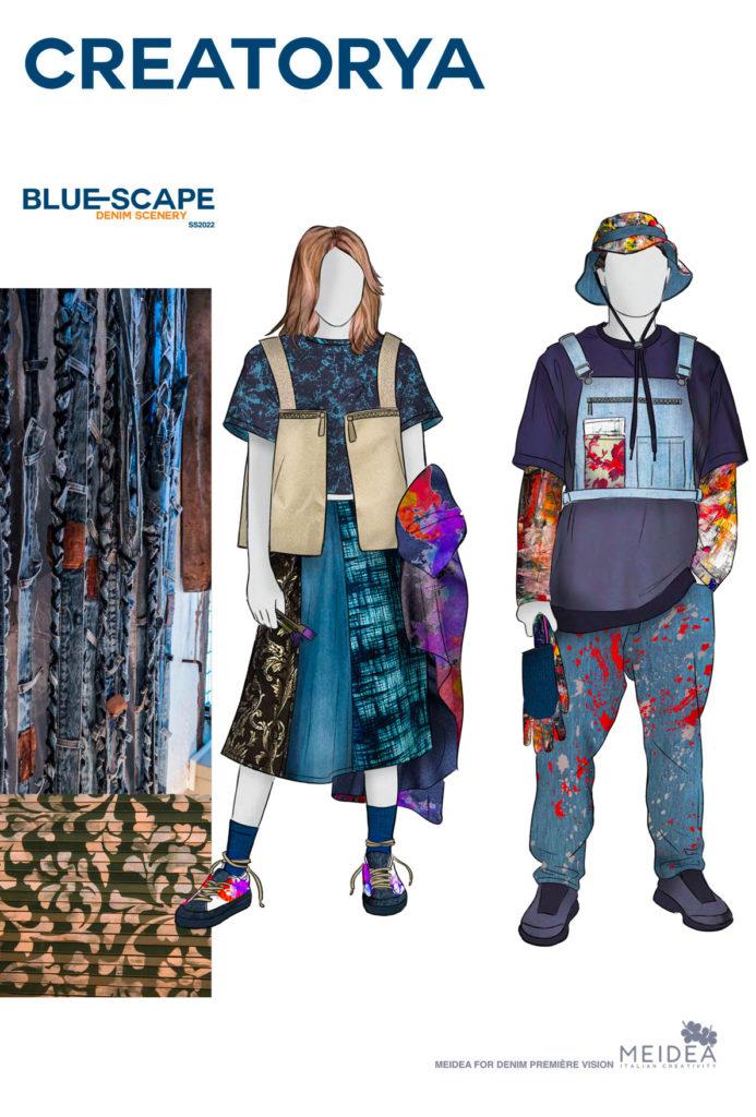 Blue-scape article on Rivet Magazine