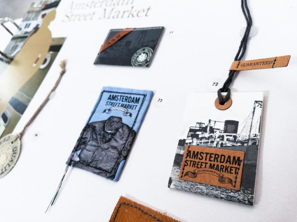 Ricerca di materiali sostenibili per nuove applicazioni creative sul design delle etichette