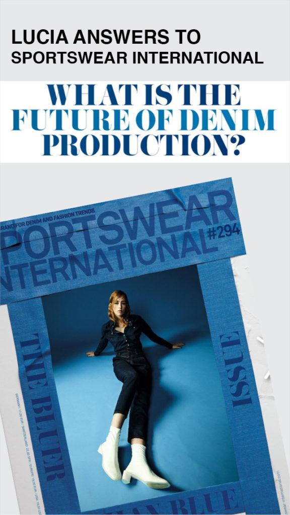 Intervista a Lucia Rosin per Sportswear International 294