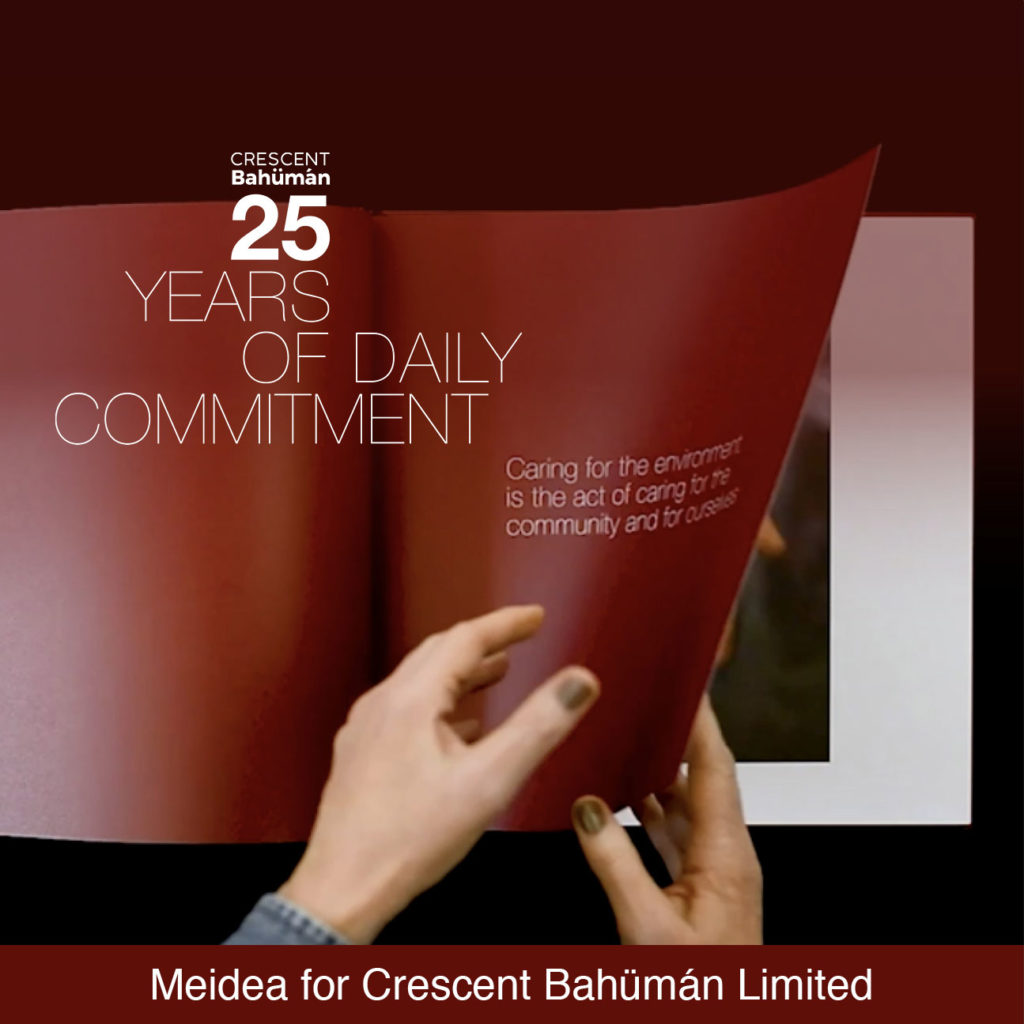 25 Years of Daily Commitment. Video intervista a Meidea