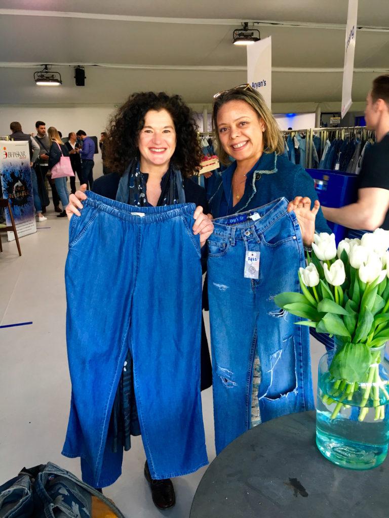 I modelli di Jeans in Tencel realizzati da Michelle Branch e Lucia Rosin