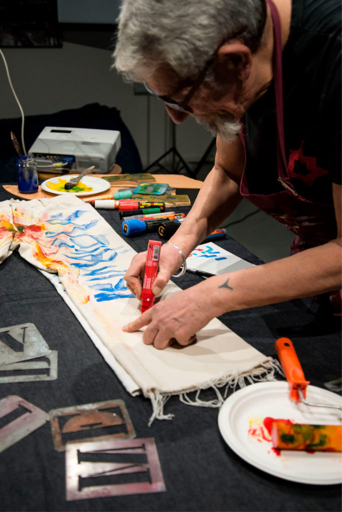 Performance Artistica in Meidea: Art Upcycle 2018