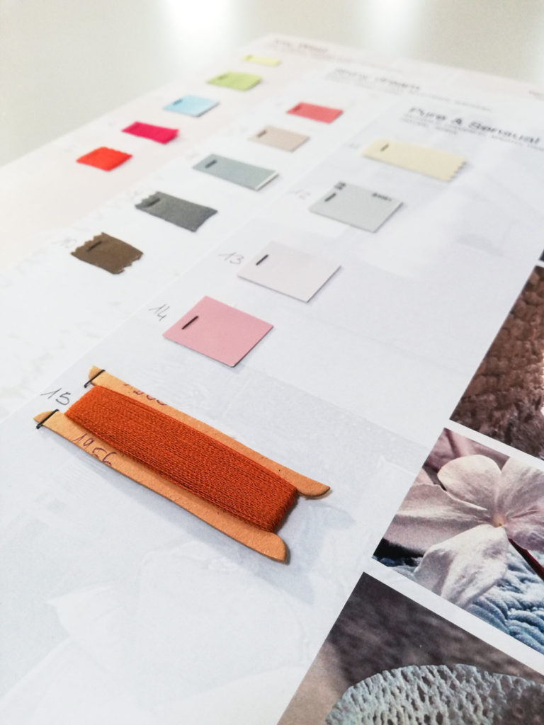 Colors Fusion: innovative dyes and washes for Olimpias